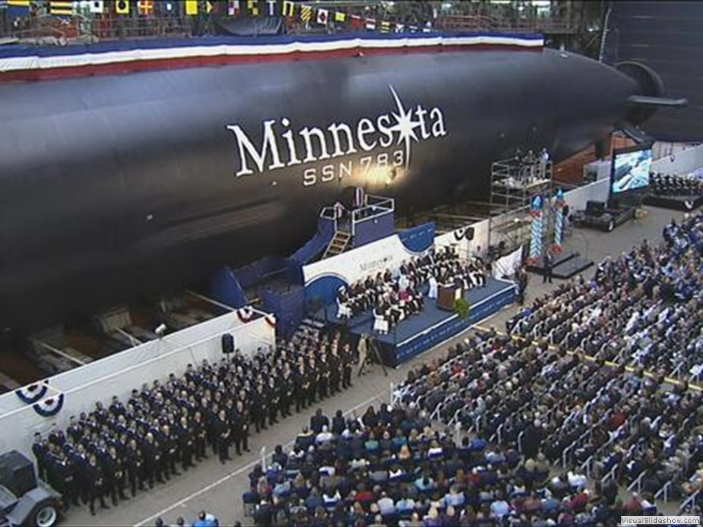 USS Minnesota (SSN 783) Christening Ceremony